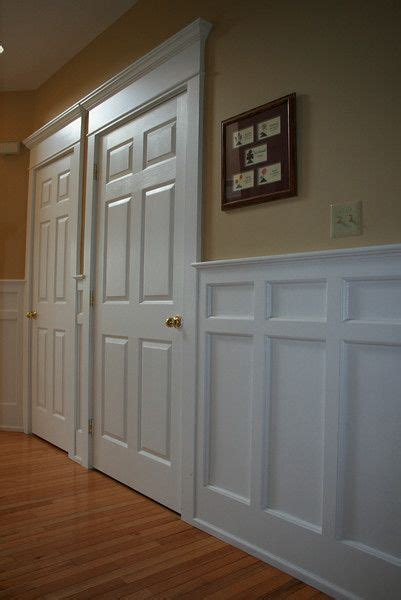 Wainscot Paneling Ideas by Craftsman Wainscoting Ideas Woodworking Projects Plans