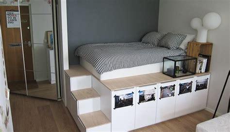 Platform Bed Met Extra Opbergruimte