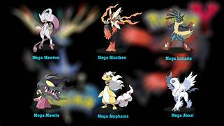 Pokemon x And y Mega E...