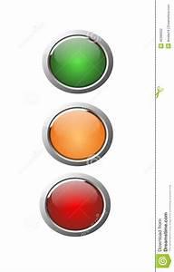 Orange Et Vert Dunkerque : 3d se boutonne vert orange et rouge illustration stock ~ Dailycaller-alerts.com Idées de Décoration
