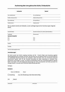 Vorlage Kaufvertrag Küche : muster kaufvetrag ber eine gebrauchte k che ~ Watch28wear.com Haus und Dekorationen
