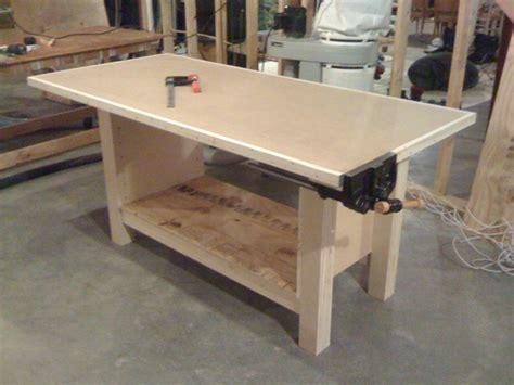 woodwork mdf workbench plans  plans
