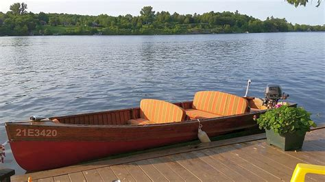 Peterborough Cedar Strip Boats For Sale by Cedar Strip Peterborough Boat For Sale 15 Ft 1952