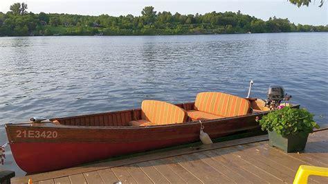 Boat Motor For Sale Peterborough by Cedar Peterborough Boat For Sale 15 Ft 1952