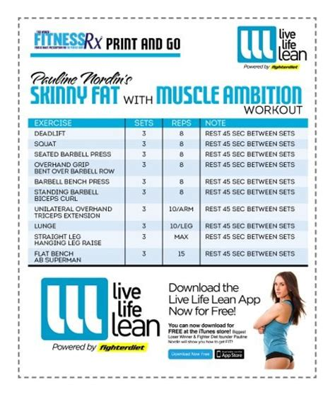 Skinny Fat Avec Ambition Muscle Workout --building