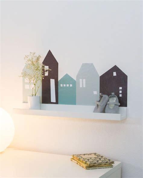 Wandgestaltung Kinderzimmer Häuser by Kinderzimmer Regal Selber Machen Limmaland Kleben