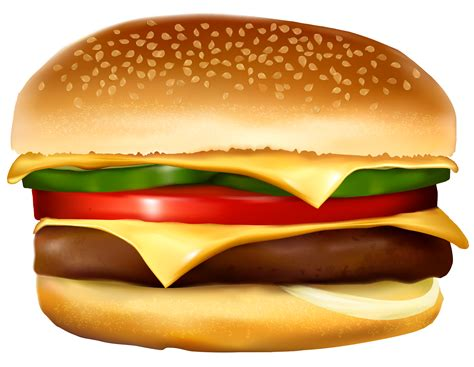 Hamburger Clipart - hamburger clipart transparent background pencil and in