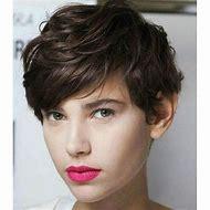 Short Curly Hair Pixie Cut Hairstyles
