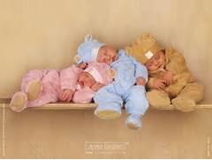 Cute Sleeping Babies W...
