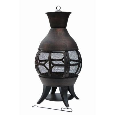 Chiminea Pit Home Depot by Hton Bay Lokia 20 In Cast Iron Chimenea Fp 51104 The