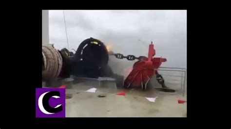 Boat Anchor Fails by How Not To Drop An Anchor Boat Fail Boat Sets On