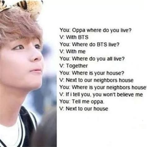 Taehyung Funny Quotes