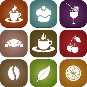 Simple Food Icon Vector Material - Free Vector Site ...