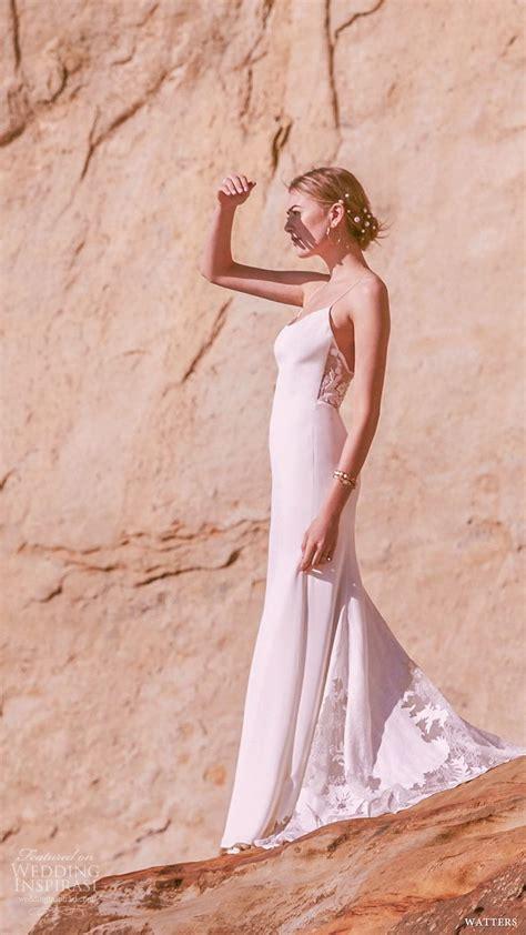 watters spring  wedding dresses  sun