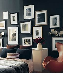 Art of hanging pictures on the wall wall photo display for Interior design wall of frames