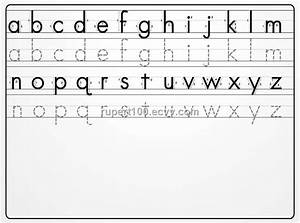 alphabet writing board purchasing souring agent ecvv With learning to write alphabet templates