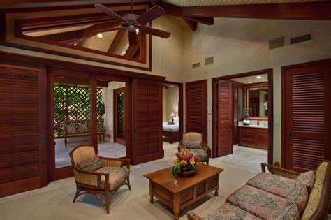frank lloyd wright style home plans bali house tropical living room hawaii by rick