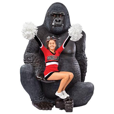 sea bathroom ideas silverback gorilla statue the green