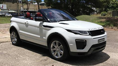 range rover evoque convertible hse dynamic   review