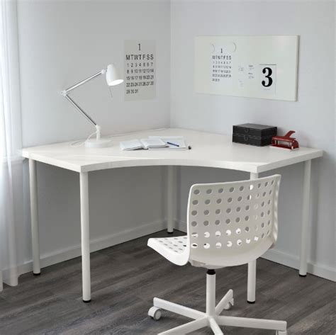 80 x 48 x 74 cm $65 100 x 60 x 74cm $85 120 x 60 x 74cm $95 IKEA LINNMON Corner table top, white in South Island NZ ...