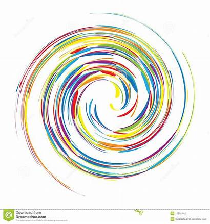 Swirl Abstract Background Vector Clip Clipart Illustration