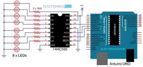 How Interface Shift Register With Arduino