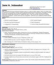 quality engineer resume exles quality engineer resume template resume downloads