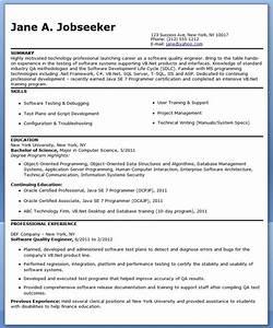 quality engineer resume template resume downloads With quality engineer resume template