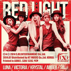 f(x) - Red Light - Color Coded Lyrics