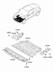 Hyundai Genesis Coupe Cover Assembly