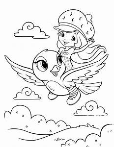Strawberry Shortcake Coloring Pages Coloring Pages For Kids