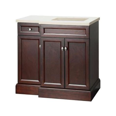 foremost teagen 36 in vanity in espresso with