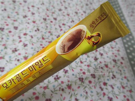 Maxim mocha gold mild coffee mixingredients: Sakuranko: Korean Maxim Mocha Gold Mild Coffee Mix