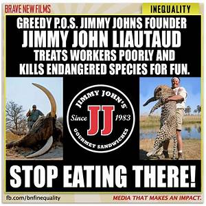 You Won't Believe What You Support When You Eat At Jimmy ...