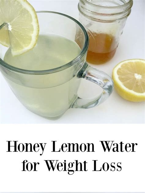 water and honey diet