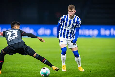 They prioritize in going through the company details. Luca Netz | Hertha BSC