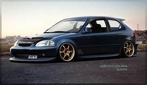 Honda Civic Jdm Style - image #284