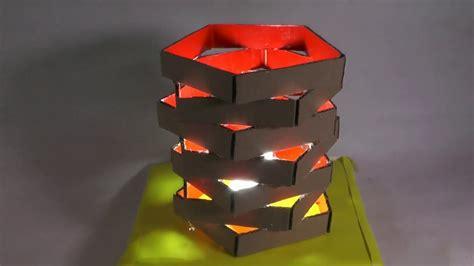 desain lampu hias barang bekas unik