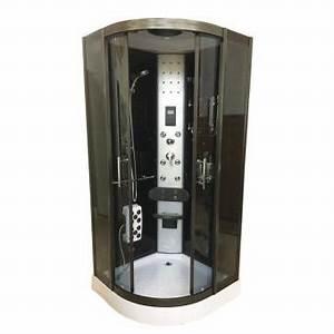 Installation Cabine De Douche : cabine de douche hydromassante 90 x 90 cm spa chrometherapie bain hydromassage mod le toronto ~ Melissatoandfro.com Idées de Décoration