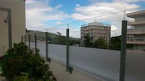 Brise Vue Pour Terrasse : panneaux coupe vent terrasse transparents sur mesure ~ Dailycaller-alerts.com Idées de Décoration