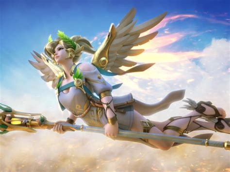 320x480 Mercy Overwatch Apple Iphone,ipod Touch, Galaxy