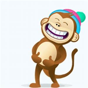 """Monkey Giggle"" Emoticon"