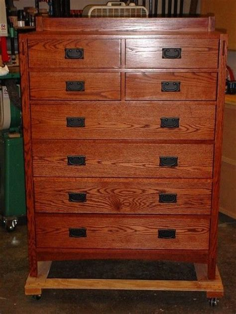 mission style chest of drawers mission chest of drawer plans