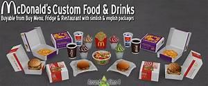 Mcdonalds Custom Food  U0026 Drinks By Sandy
