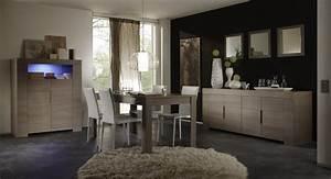 salle a manger contemporaine chene gris jamie salle a With salle À manger contemporaine avec sol gris cuisine