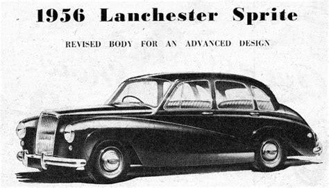 1956 Lanchester Sprite