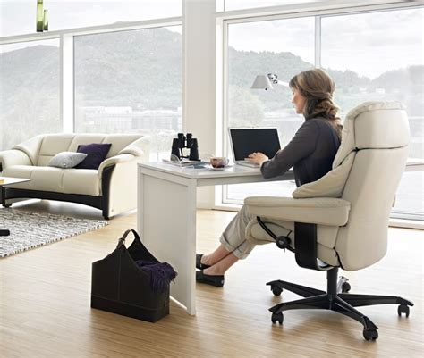 computer desk oklahoma city ekornes stressless living room modern home office