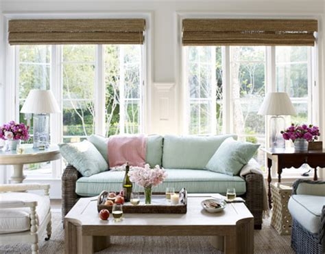 cottage living rooms mix and chic home tour a relaxing house Coastal