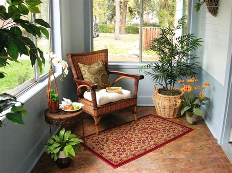 small sunroom space management small places