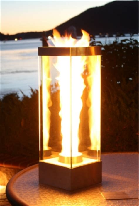 Outdoor Custom  Ee  Fire Ee   And Water Feature Firefalls With  Ee  Fire Ee